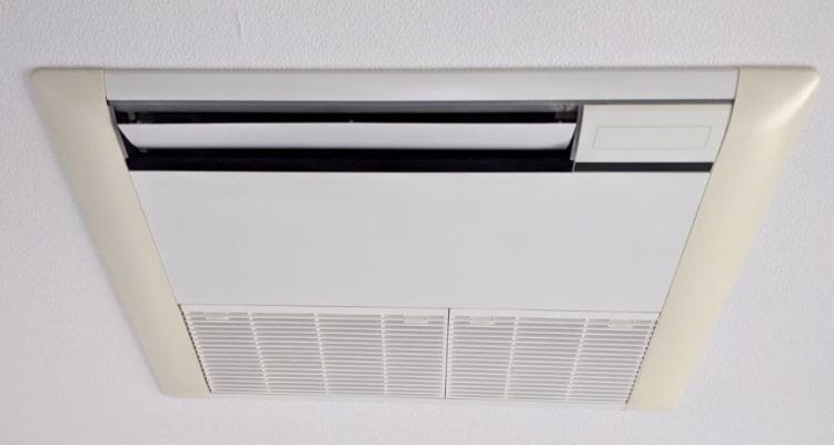 家庭用エアコンの画像